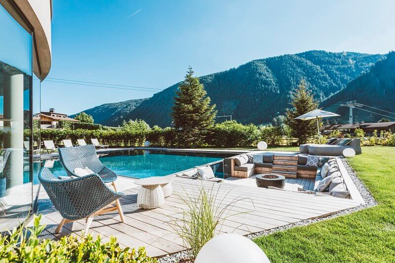 romantic getaways in the mountains,silena hotel südtirol,wellness and yoga retreats europe,best mountain hotels in italy,garden design ideas with swimming pool,