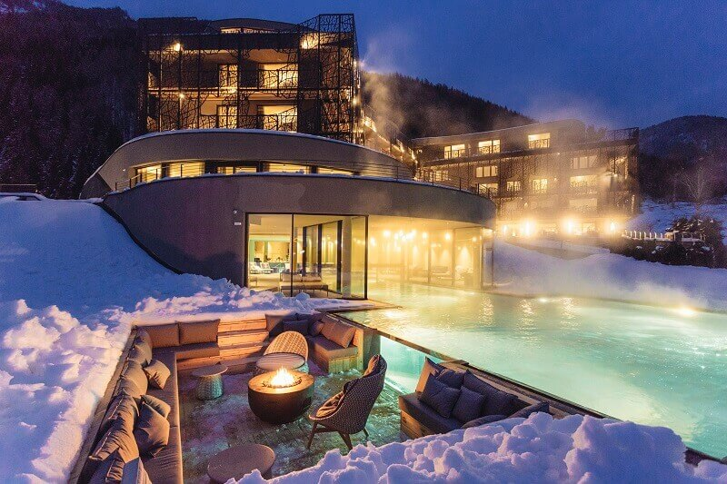 best mountain hotels in italy,hotel design ideas with swimming pool,romantic getaways in the mountains,silena hotel südtirol,wellness and yoga retreats europe,