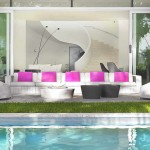luxury outdoor living rooms,white outdoor furniture sets,pink cushions on white sofa,sitting in the garden images,weekend in the garden ideas,
