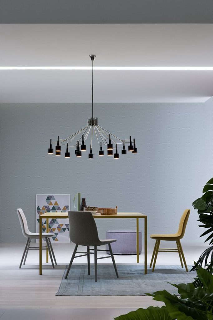 Dining room designs with pastels color