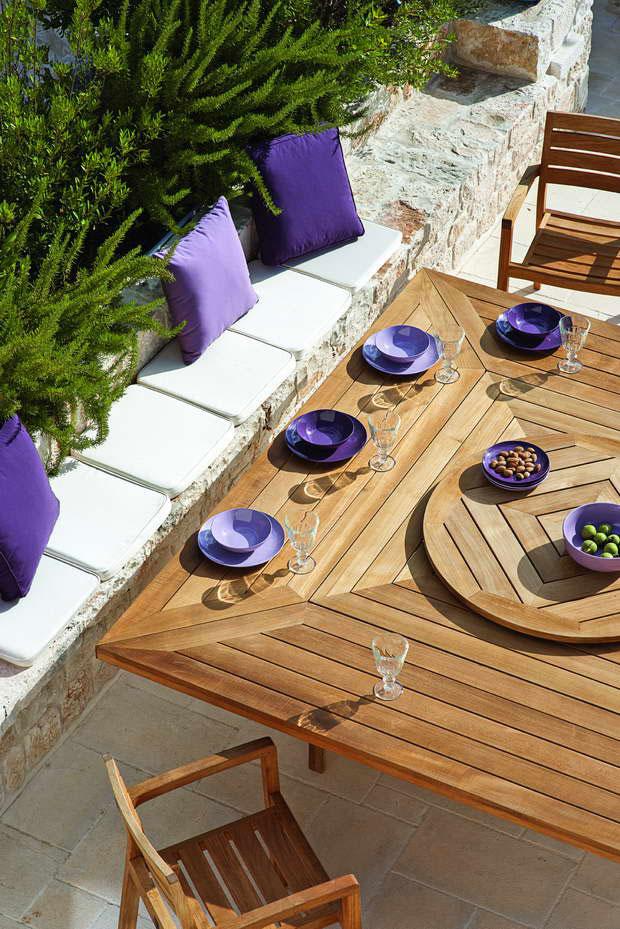 Garden Design Natural Materials For A Summer Atmosphere Archi Living Com