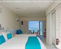 holiday inn resort kandooma maldives,south male atoll,the maldives,seaview bungalows,hospitality design,hospitality,hotel design,hotels,accommodation,travel destinations,travel attractions,travel inspiration,travel ideas,family holidays,family holiday ideas,romantic travel,romantic vacations