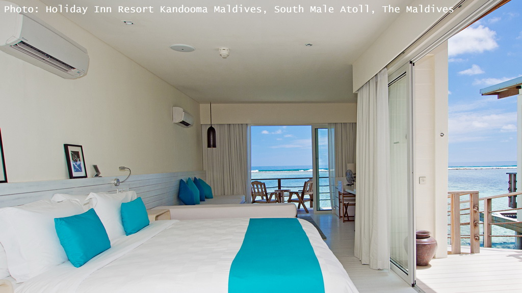 holiday inn resort kandooma maldives,south male atoll,the maldives,bedroom,hotel room,bedroom designs,hotel room design,hotel room ideas,neutral color palette,white interior,blue color,blue interior,blue bedroom,luxury bedroom design,bedroom,bedroom designs,bedroom decor,bed designs,bedroom design ideas,bedding,bedding design,bedroom accessories,bedroom furniture,bedroom night stands,bedroom closet,designer beds,bedroom furniture brands,bedroom mirrors,luxury bedroom furniture,luxury bedding,outdoor,outdoor furniture,outdoor sofa,garden design,design,garden furniture,terrace,balcony,outdoor design,sea view,seaview bungalows,luxury seaview bungalows,hospitality design,hospitality,hotel design,hotels,travel attractions,travel inspiration,travel ideas,family holidays,family holiday ideas,romantic travel,romantic vacations,luxury hotels,hotel design ideas,hospitality design ideas,blue sky,blue sea,beach holidays,sandy beach,