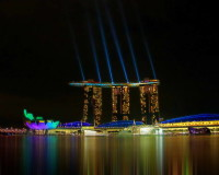 marina bay sands hotel singapore,outdoor lighting design ideas,luxury hotels of the world,most famous hotels in singapore,colorful lighting for hotels,