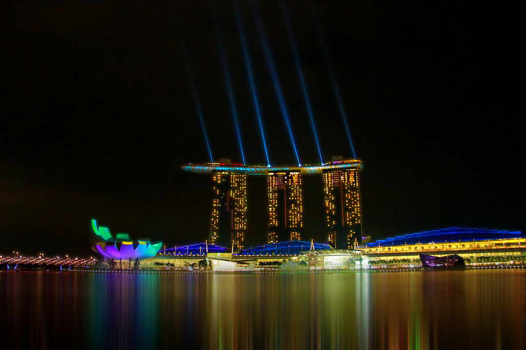Marina Bay Sands,Singapore,Asia,luxury hotels,asian style hotels,oriental style hotels,hotels in asia,luxury hotels in asia,hotels in singapore,luxury hotels in singapore,visit singapore,travel singapore,singapore travel ideas,singapore hotels,singapore hotel ideas,hospitality design,hospitality,hotel design,hotels,colorful outdoor lighting,colorful outdoor lighting ideas,hotel lighting design,hotel lighting ideas,lighting design,lighting ideas,design inspiration,design ideas,accommodation,travel destinations,travel attractions,travel inspiration,travel ideas,family holidays,family holiday ideas,romantic travel,romantic vacations,