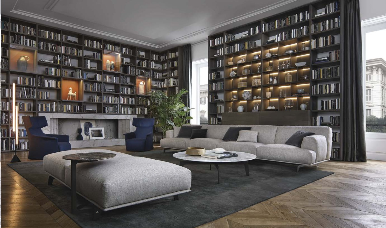 Archi-living, Salone del mobile, Milano, Trends in living rooms