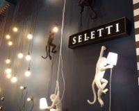 monkey shaped lamp,euroluce milan lighting fair,animal inspired wall decor,monkey themed wall light white,creative lighting design and decor,