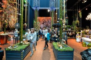 Shopping Centre Interior Design, Design by Modern Nature, Christmas, Christmasworld, Rudi Tuinman, Pascal Koeleman, 2Dezign, Forest Camping, Tree of the World, Christmas Cabin