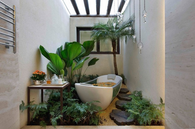 tropical bathroom ideas archi living com