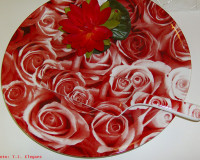 romantic table decoration ideas,rose decoration ideas,