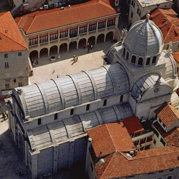 The Cathedral of St. James in Sibenik,Croatia,UNESCO World Heritage List,unesco world heritage site,unesco Croatia,unesco sibenik,sustainable tourism,sustainable tourism in Croatia,