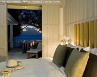 exotic bedroom romantic decorating ideas,the surin phuket hotel,oriental bedroom designs,romantic honeymoon ideas,bedroom with ocean view,