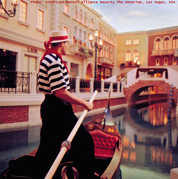 romantic travel destinations,gondolier in gondola,hotel venice las vegas nevada,gondola ride las vegas,romantic travel activities,