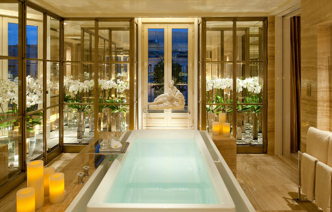 Top Ten Most Amazing Hotel Bathrooms In The World Archi Living Com