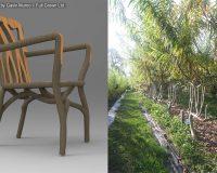 gavin munro tree chairs,gavin munro full grown,raw wood furniture,wild style furniture design,chairs made of raw wood,