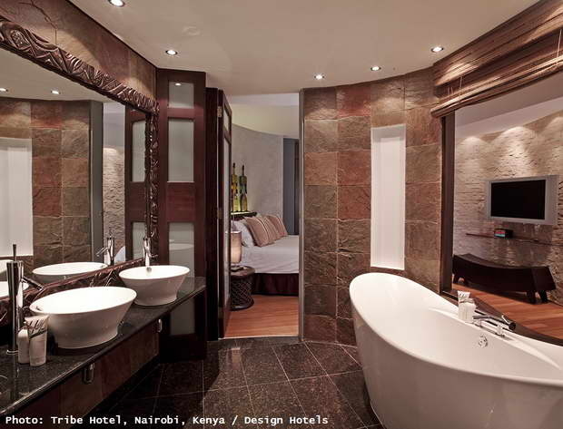 african hotel bathroom wall decor,luxury bathroom mirrors,classic mirror in modern bathroom,high end hotel bathroom ideas,best design hotels africa,