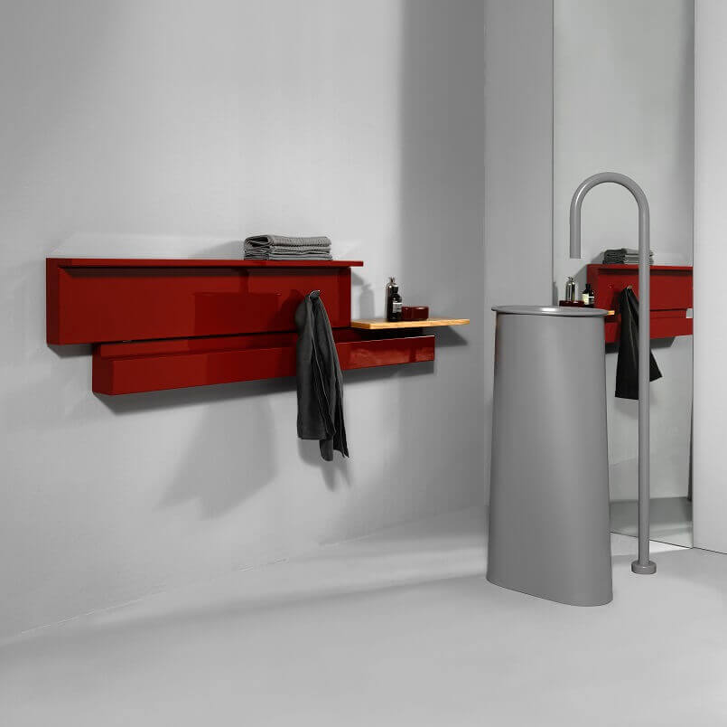 red radiator bathroom,designer horizontal towel radiator,radiators for small apartment,radiator ideas for small bathroom,designer italian radiators,