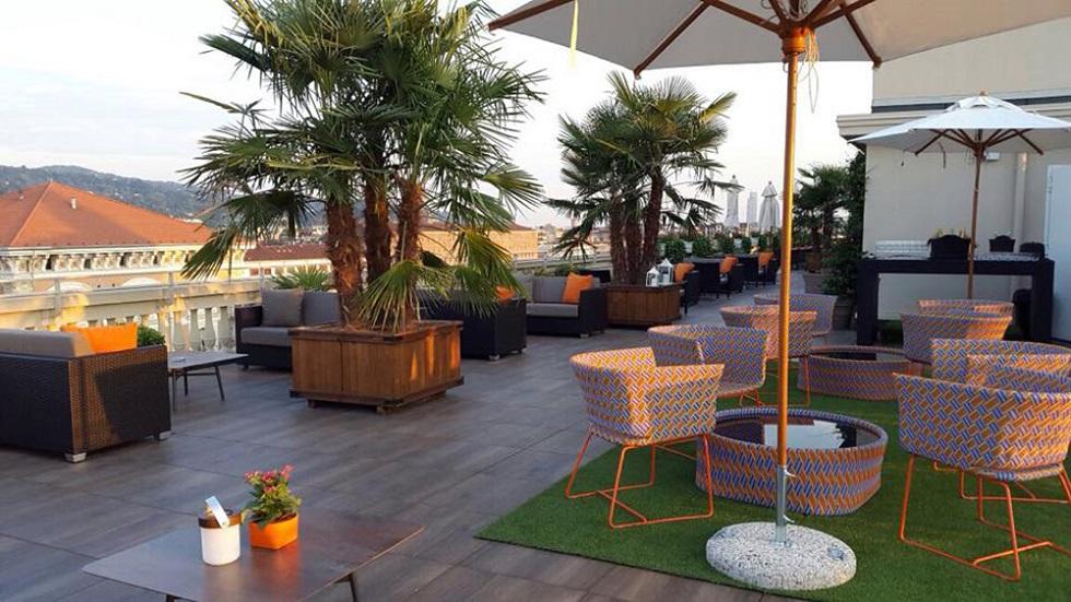 Turin Palace Hotel,Turin,Italy,hospitality design,hospitality,hotel design,hotels,outdoor furniture,Varaschin,travel,travel ideas,travel inspiration,travel destinations