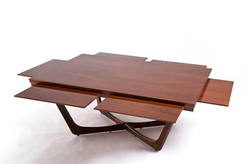 mahogany coffee table luxury,wooden outdoor coffee table designs,extractable coffee table designs,high end outdoor living spaces,unopiu tavolo esterno,