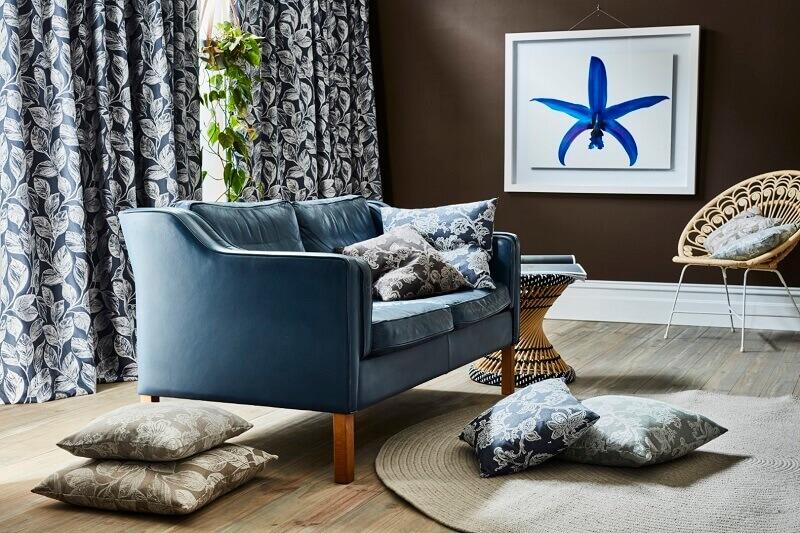 loveseat blue sofa,blue decor living room,
