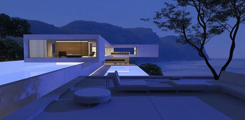 svetozar andreev architect,contemporary villa design architecture,zumtobel lighting,lighting for modern villa,lighting design tips for home,