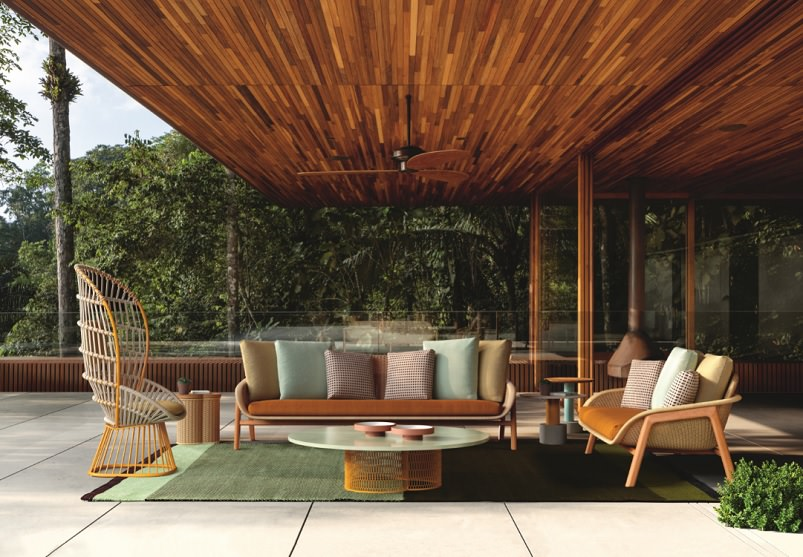Garden Furniture Ideas - Vimini by Patricia Urquiola | Archi-living.com