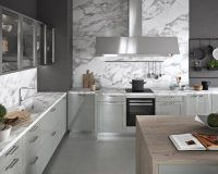 italian furniture kitchen cabinet,kitchen wall cabinets with glass doors,contemporary white and gray kitchen,high end kitchen island designs,cooker hood for large kitchen,