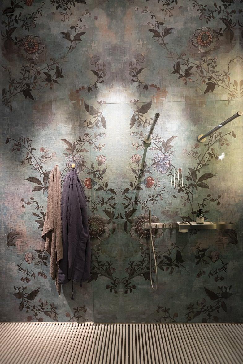 wallpaper,bathroom wallpaper,wall coverings,bathroom wall coverings,colorful wallpaper,floral print wallpaper,bathroom wall decor,wall decoration ideas,designer wallpapers,designer bathroom wallpapers,bathroom,bathroom decor,bathroom ideas,luxury bathrooms,luxury bathroom designs,designer bathroom,bathroom showers,shower,spa design,spa design ideas,modern spa design ideas,modern spa design,luxury spa,luxury spa design,design spa,spa designers,spa decor,spa decor ideas,wellness,wellness design,hotel spa,hotel spa design,hotel spa wellness,hotels bath,lighting design,ambient light,hospitality design,hospitality,hotel design,hotels,interior design,interior decorating,Salone del Mobile.Milano,International Bathroom Exhibition,Fiera Milano,Milano,Milan,Italy,design trends,design news,design trade show,design fair,design event,event,design inspiration,design ideas,product collection,designer,designers,young designers,
