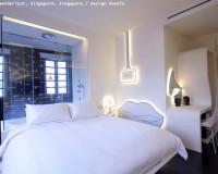 luxury bedroom white,white modern bedroom ideas,wanderlust singapore a design hotel,creative wall lighting ideas,design hotel in singapore,