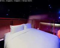 space inspired bedroom,asian hotel room designs,wanderlust singapore room,space themed interior design,creative hotel room decoration,