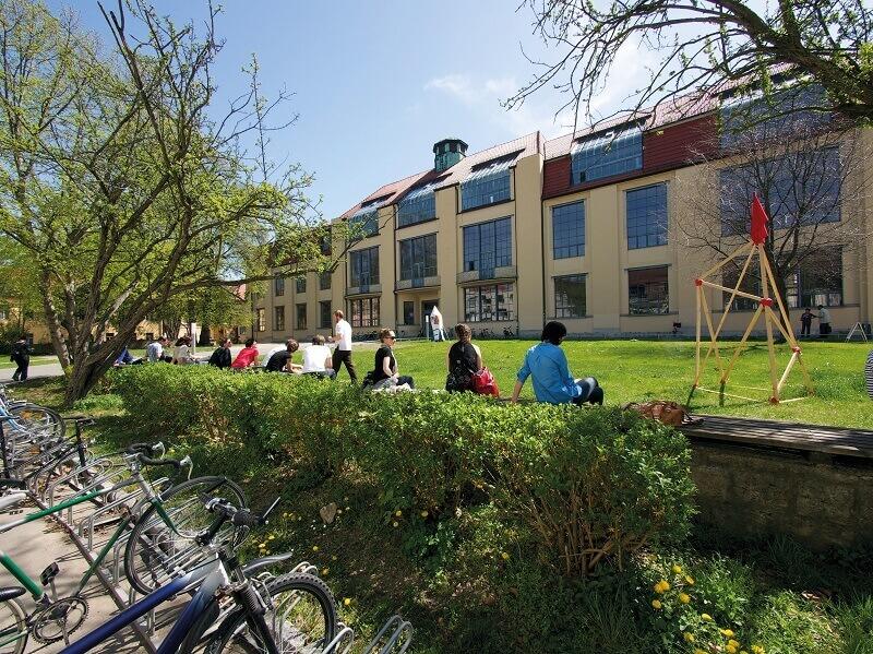 Weimar Bauhaus University,Germany,Bauhaus centenary,Bauhaus arts and architecture academy,travel destination Thuringia