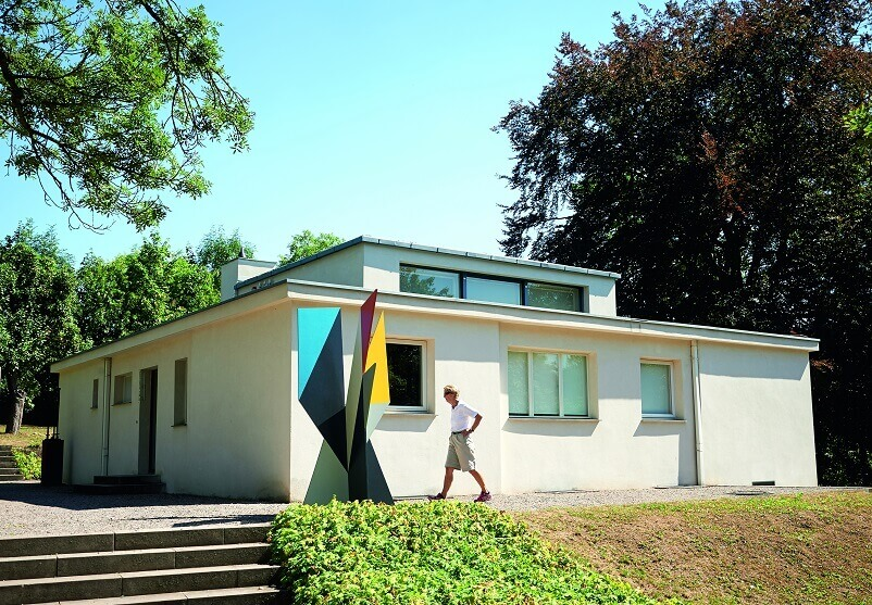 Haus Am Horn,UNESCO World Heritage site,celebrate Bauhaus,Bauhaus arts and architecture academy,Thuringia Germany