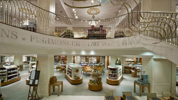 fortnum and mason london shop,luxury retail architecture,high end retail interior designs,traditional shopping places in london,steps in store interior decoration,