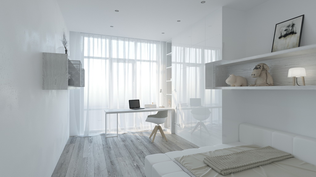 Ethno White Minimalist Apartment Design Kyiv Ukraine Archi Living Com