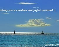 carefree summer quotes,joyful summer wish quotes,seasonal greetings wishes,summer greetings to you,summer greetings card,