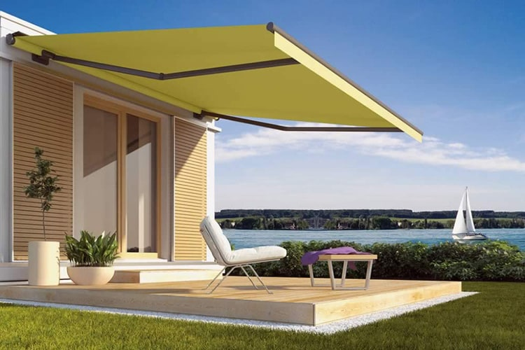 Photo GalleryAutomatic Awnings For House Design