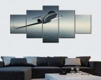aviation wall art panels,wall art travel theme,sky travel wall decorations,neutral color contemporary living room décor,multi panel wall décor,