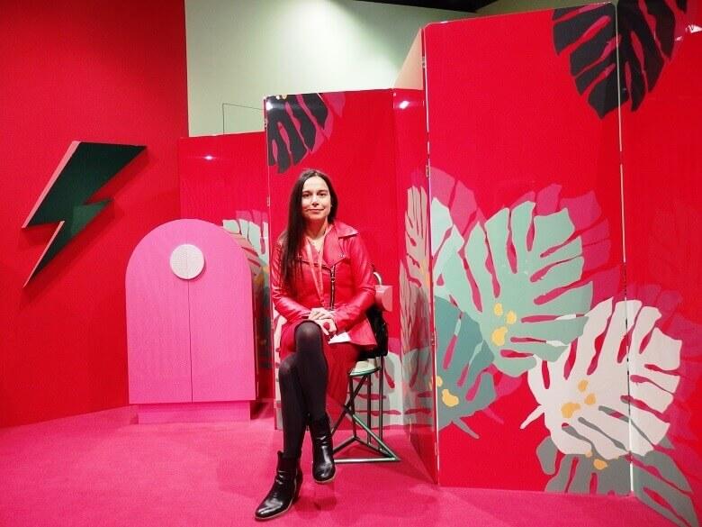 danica maricic interior designer,salone del mobile milano design week,designer furniture for living room,red pink green decorating ideas,altreforme furniture,
