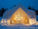 arctic snow hotel & glass igloos rovaniemi,entrance to ice hotel finland rovaniemi,ice architecture around the world,best ice hotels in scandinavia,vacation ideas for winter,