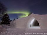 arctic snowhotel glass igloo rovaniemi,aurora borealis finska,ice architecture around the world,aurora borealis northern lights europe,romantic winter date night ideas,