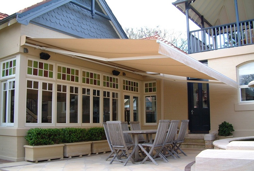 Automatic Awnings for House Design | Archi-living.com