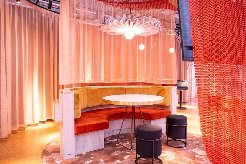 bar design ideas,red and orange restaurant decor,luxury hotel restaurant design,restaurant & bar design show london 2019,trends in hospitality and tourism industry,