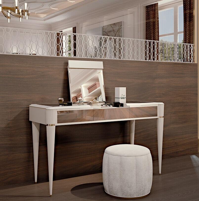 luxury beauty table,beauty parlour dressing table,beauty table and stool,makeup table with mirror,luxury makeup desk,