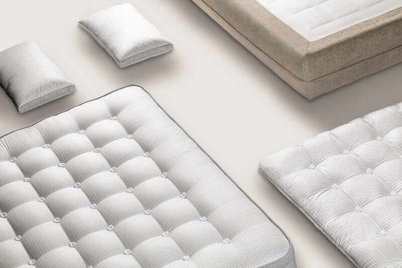choose mattress for healthy sleep,latex and cotton mattress,hemp horse hair mattress,best mattress personalized,designer sleeping solutions,