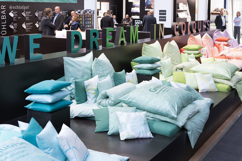 Exhibition Stand Trends 2018 : Heimtextil textile design architecture
