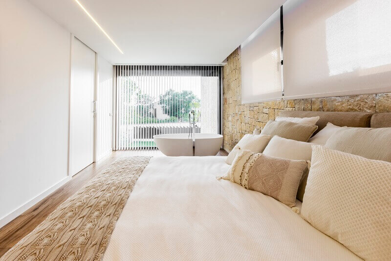 bedroom furniture ideas,designer beds,self standing contemporary bathtubs,contemporary stone architecture,contemporary stone house designs,