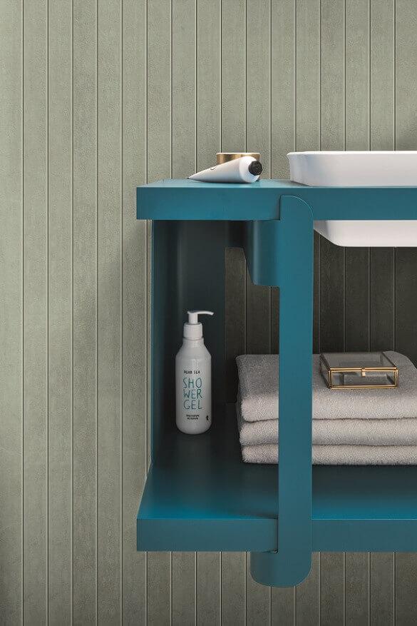 blue shelves for bathroom wall,blue decor accessories,bathroom design inspiration,