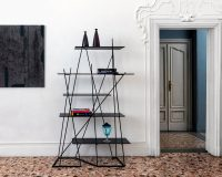 shelves inspired by forest trees,furniture inspired by forest,shelves inspired by trees,eco friendly sustainable interior design,eco friendly sustainable furniture,