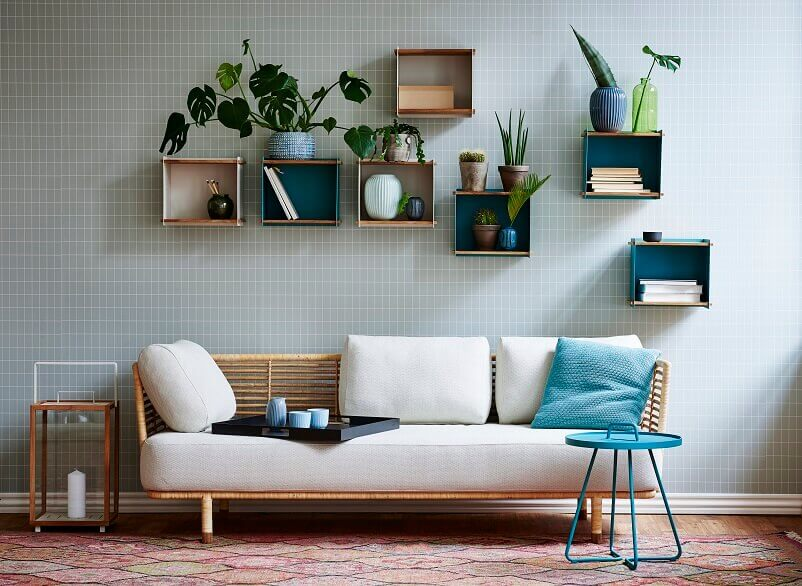 storage ideas for small living room,outdoor furniture for indoors,bookshelves made of box in living room design,where to place plants in living room,wall shelves boxes,