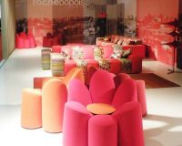 flower shaped furniture,colorful design ideas,floral decor for home,high end furniture,salone del mobile design,
